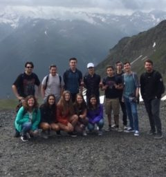 Chatfield Chargers are blessed to be in Switzerland.