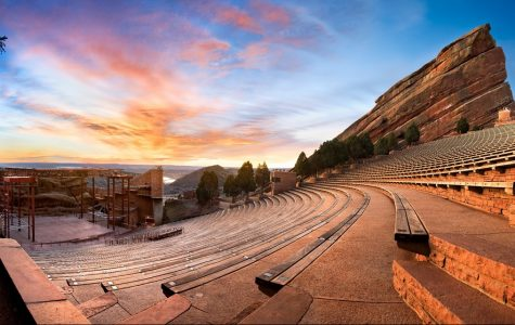 Red Rocks Amphitheatre in Morrison, Colorado