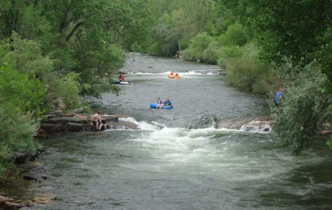 Clear Creek River in Golden, Colorado