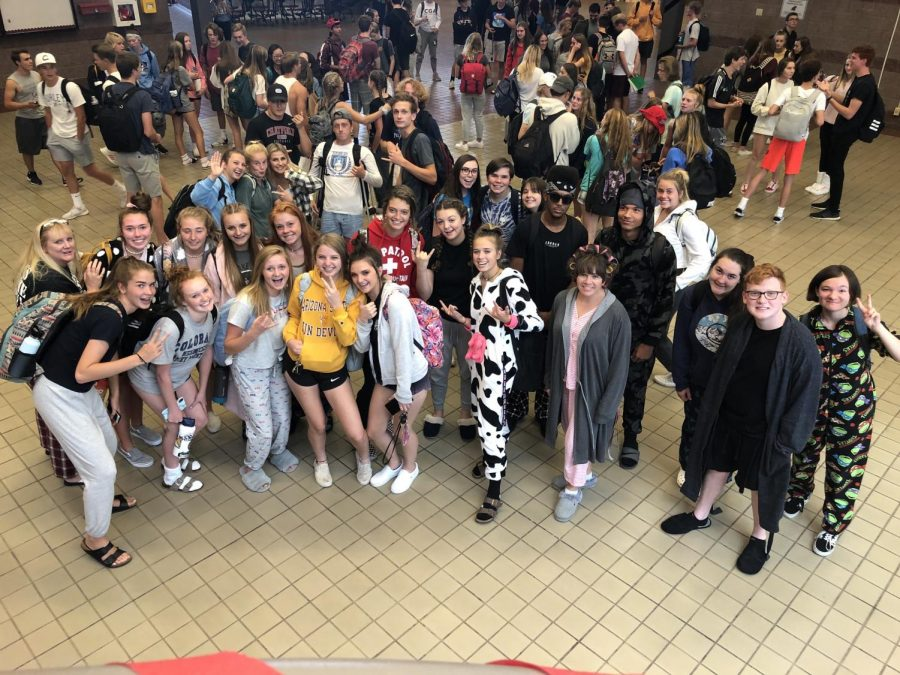 HOCO Week: Monday School Spirit Day Pajama Day