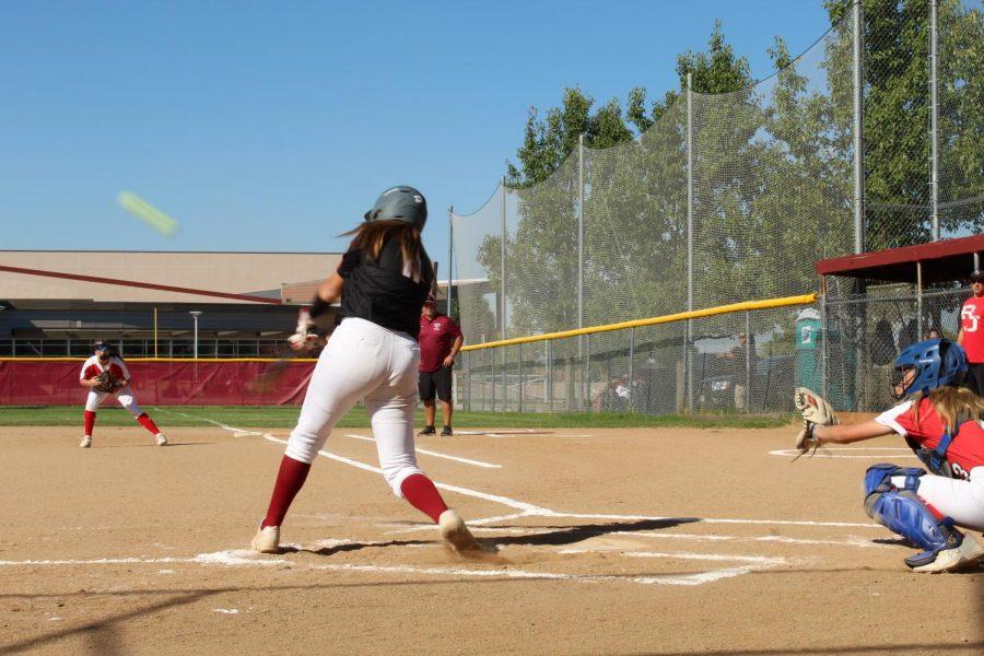 Izzy's home run!!