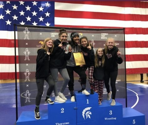CSH GIRLS WRESTLING TEAM: Back to Back STATE CHAMPS!!