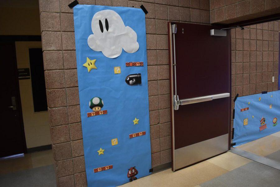 Mario level in Upper C Hall