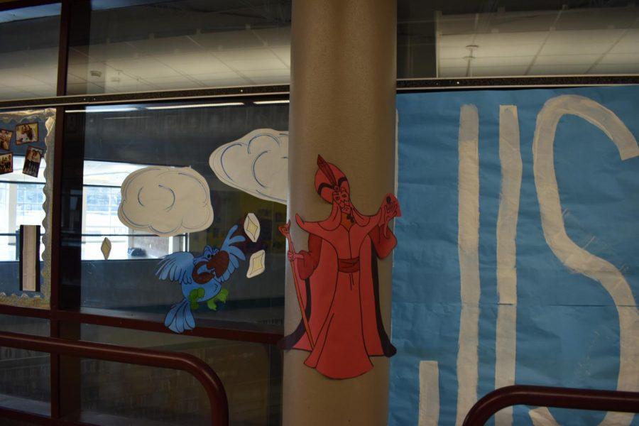 Aladdin on the Bridge