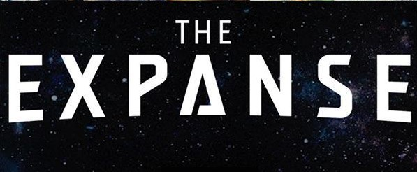 The logo for The Expanse.