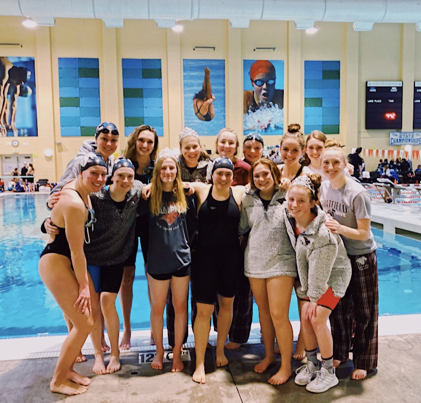 Swimming and Diving Competes at State