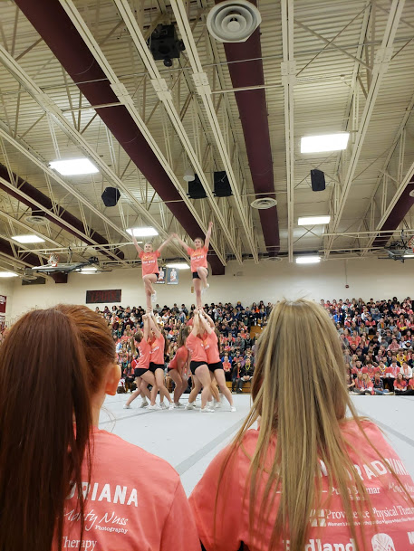 Varsity Cheer Stunt