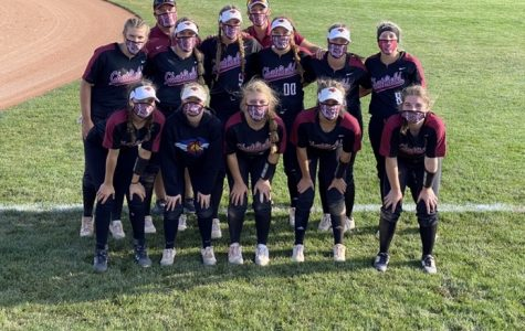 Varsity Softball Wins Against Columbine