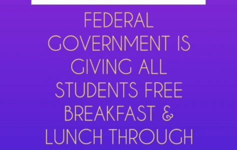 FREE BREAKFASTS & LUNCHES for ALL STUDENTS
