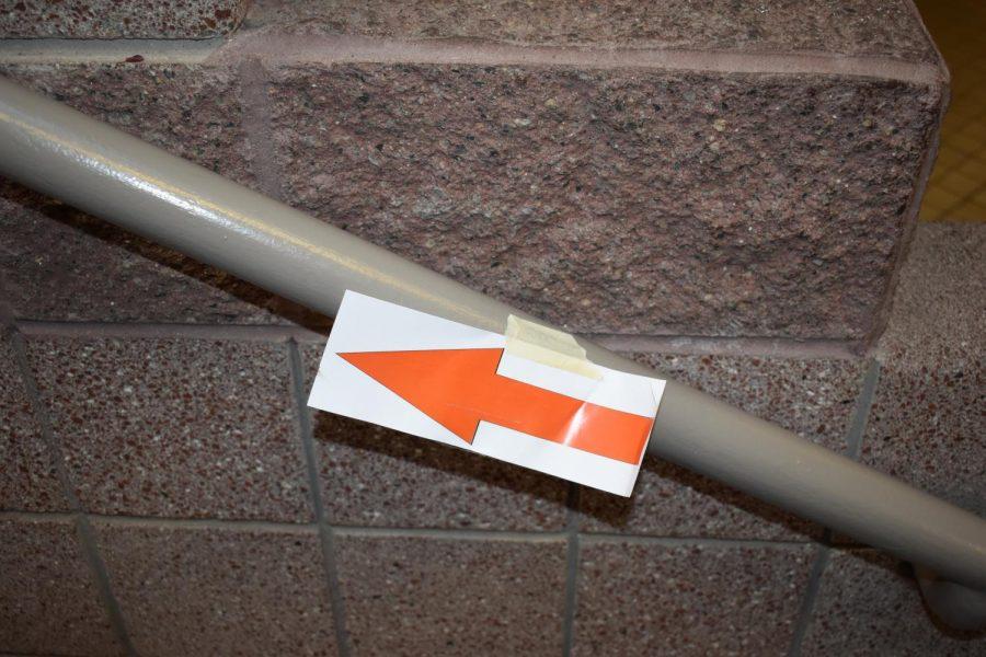 Arrows! One way Hallways