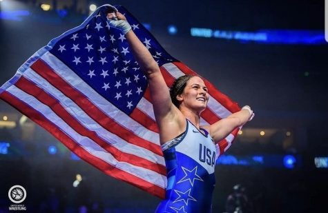 Former CSH Wrestler, Adeline Gray, is Headed to the Olympics for the Second Time!